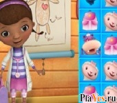 онлайн игра Doc McStuffins Match It