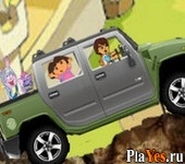 онлайн игра Dora and Friends Offroad