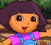 ������ ���� Dora At The Zoo