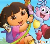 онлайн игра Dora - Collect the Flowers