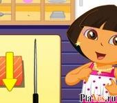 онлайн игра Dora Cooking Chinese