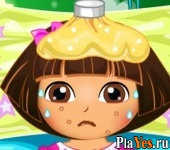 онлайн игра Dora Disease Doctor Care