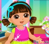 онлайн игра Dora Flower Store Slacking