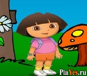 онлайн игра Dora Heart Collect