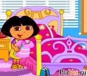 онлайн игра Dora School Clean Up