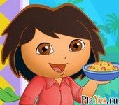 онлайн игра Dora the Cook Dress Up
