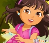 онлайн игра Dora the Explorer Girl Dress-Up
