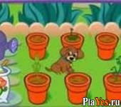 онлайн игра Dora's Magical Garden