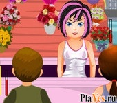 онлайн игра Draculaura Flower Boutique