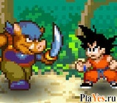 онлайн игра Dragon Ball Fighting 1.8