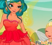 онлайн игра Fairy Mom and Daughter