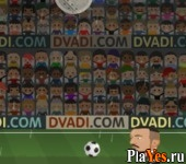 онлайн игра Football Heads: Champions League 2014-15
