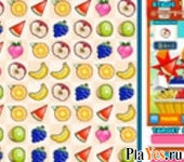 онлайн игра Fruit Bejeweled