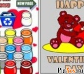 онлайн игра Happy Valentine Bear