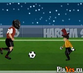 онлайн игра Harlem Shake Football