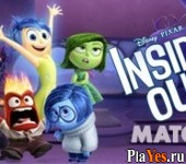 онлайн игра Inside Out Match!