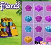 онлайн игра Lego Friends Matching