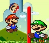 онлайн игра Mario Bros Volley