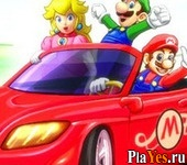 онлайн игра Mario Drift Smash