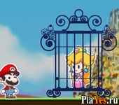 онлайн игра Mario Rescue Princess
