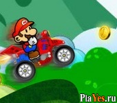 онлайн игра Mario Turbo ATV