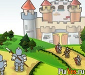 онлайн игра Medieval Castle Defense