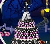 онлайн игра Monster High Cake Decor