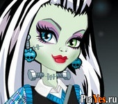 онлайн игра Monster High Makeover 3