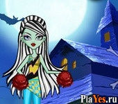 онлайн игра Monster High Scaring