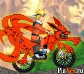 онлайн игра Naruto Bike Mission