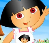 онлайн игра New Dora Dress Up