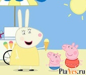 онлайн игра Peppa Pig Ice Cream