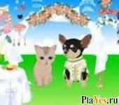 онлайн игра Pet Wedding Dress Up