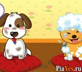 онлайн игра Puppies Salon