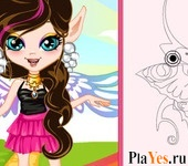 онлайн игра Rainbow Fairy Tattoo Artist