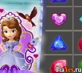 онлайн игра Sofia the First Jewel Match