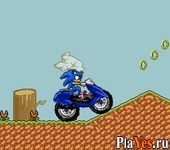 онлайн игра Sonic Enduro Race