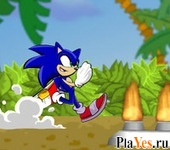 онлайн игра Sonic Jungle Adventure