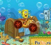 онлайн игра SpongeBob ATV