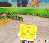 онлайн игра Spongebob Bike 3D