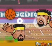 онлайн игра Sports Heads Basketball