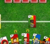 онлайн игра Sports Heads Cards: Soccer Squad Swap