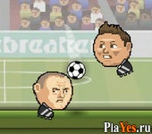 онлайн игра Sports Heads Soccer 2