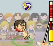 онлайн игра Sports Heads: Volleyball