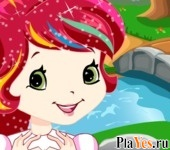 онлайн игра Strawberry Shortcake Cutie Style Dress-Up