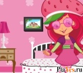 онлайн игра Strawberry Shortcake Room Decoration