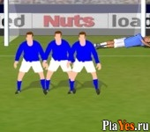 онлайн игра Super League Free Kick