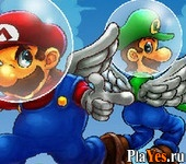 онлайн игра Super Mario Sky Shooter