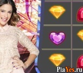 онлайн игра Violetta Jewel Match