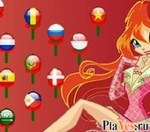 онлайн игра Winx Club Just Bloom